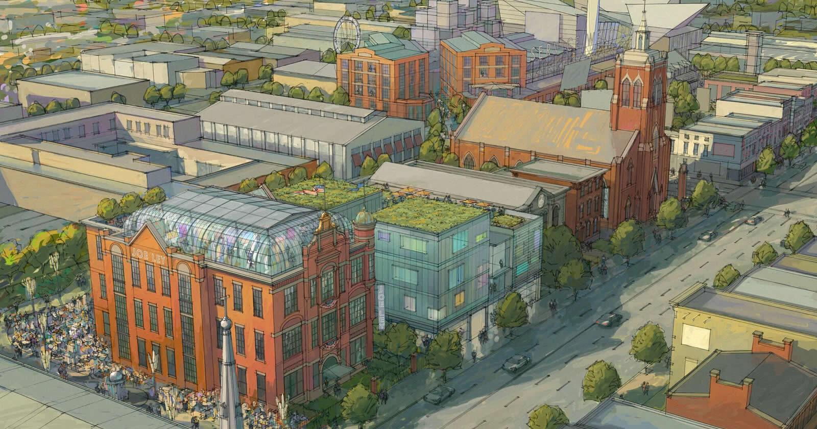 Reviving Freeze-Dried Urban Neighborhoods